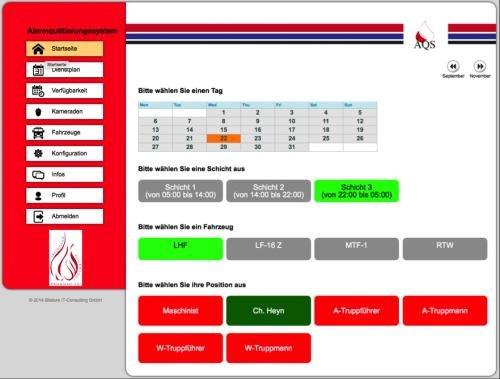 6. Produktbild AQS - Alarmquittierungssystem