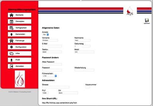 9. Produktbild AQS - Alarmquittierungssystem