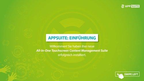 1. Produktbild AppSuite - CMS Software
