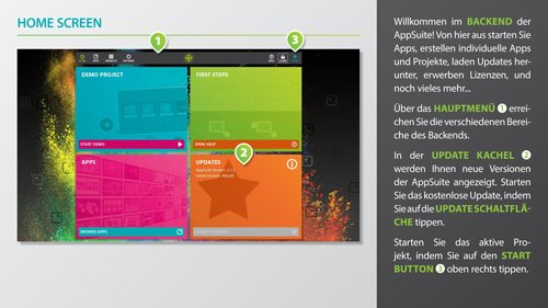 3. Produktbild AppSuite - CMS Software