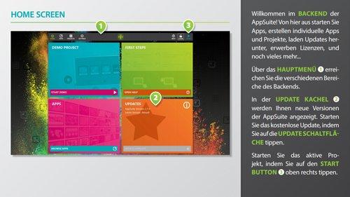 4. Produktbild AppSuite - CMS Software