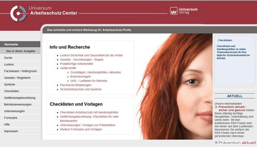 2. Produktbild Universum Arbeitsschutz Center