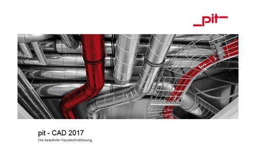 1. Produktbild pit - CAD  für Gebäudetechnik