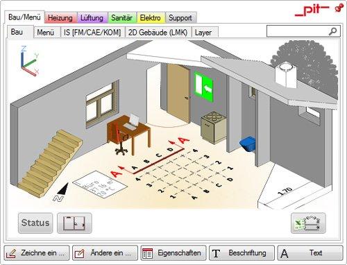 2. Produktbild pit - CAD  für Gebäudetechnik