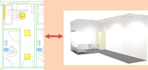 7. Produktbild pit - CAD  für Gebäudetechnik