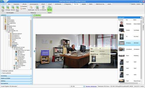 12. Produktbild Asset.Desk Foto View