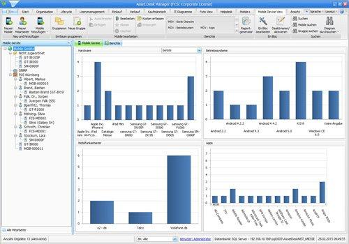14. Produktbild Asset.Desk - Mobile Device View