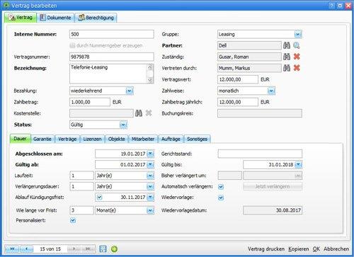 4. Produktbild Asset.Desk - Vertragsverwaltung