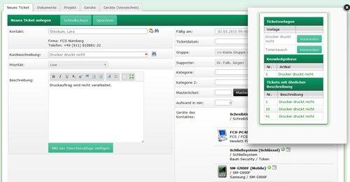 1. Produktbild HEINZELMANN Service Desk - webbasiertes User Helpdesk System