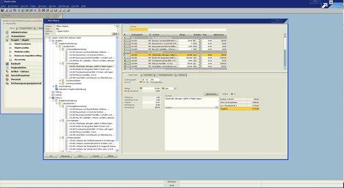 1. Produktbild Bautec.One - Branchenlösung für Kalkulation und Abrechnung im Bau