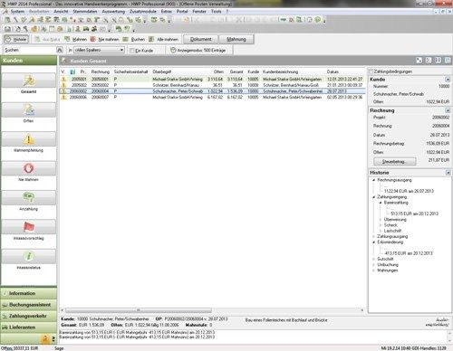 5. Produktbild Sage 50 Handwerk - Handwerkersoftware
