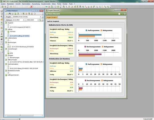8. Produktbild Sage 50 Handwerk - Handwerkersoftware