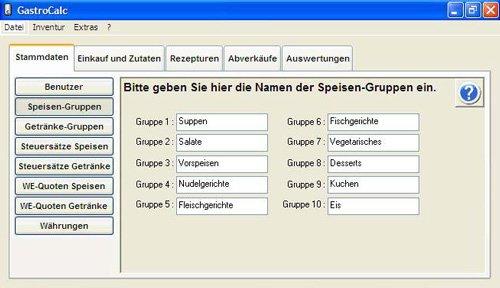 2. Produktbild GastroCalc - Gastromiesoftware