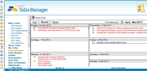 3. Produktbild Cobalt ToDo Manager für Lotus Notes & Domino
