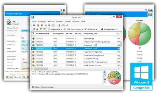 1. Produktbild Parsec.NET Anlageninventursystem