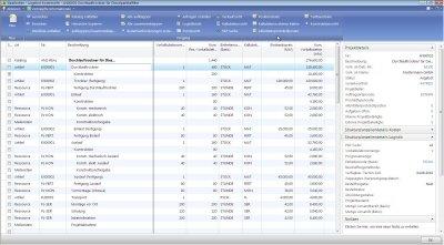 1. Produktbild ERP-Branchen-Software: amProject für den Maschinen- / Anlagenbau