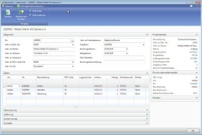 5. Produktbild ERP-Branchen-Software: amProject f�r den Maschinen- / Anlagenbau