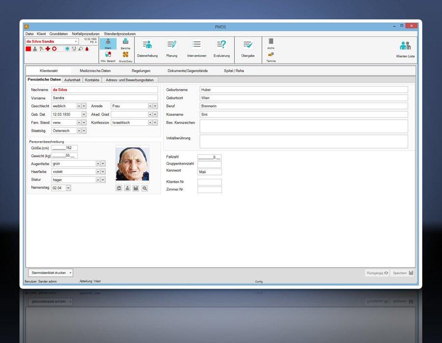 4. Produktbild PMDS - Pflege-Management und Dokumentationssystem
