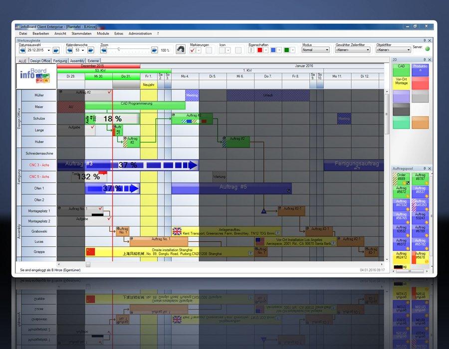 11. Produktbild Elektronische Plantafel infoBoard-Server
