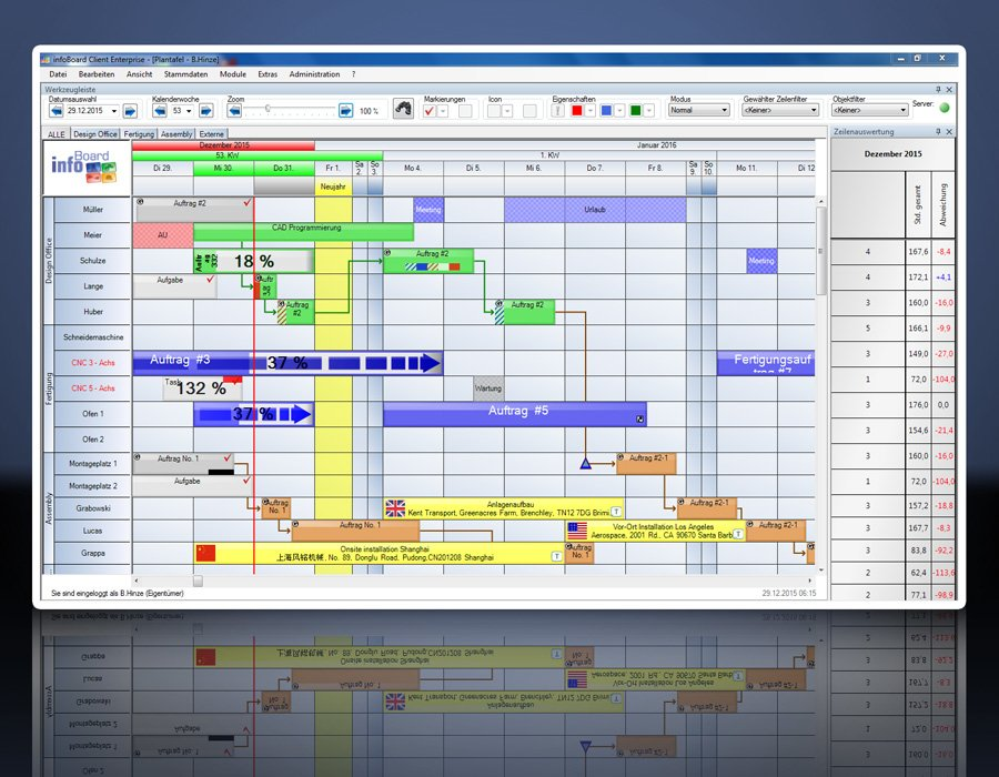 12. Produktbild Elektronische Plantafel infoBoard-Server