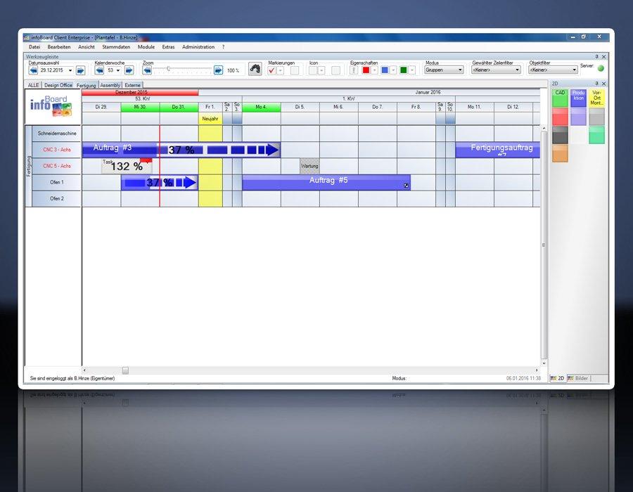 16. Produktbild Elektronische Plantafel infoBoard-Server
