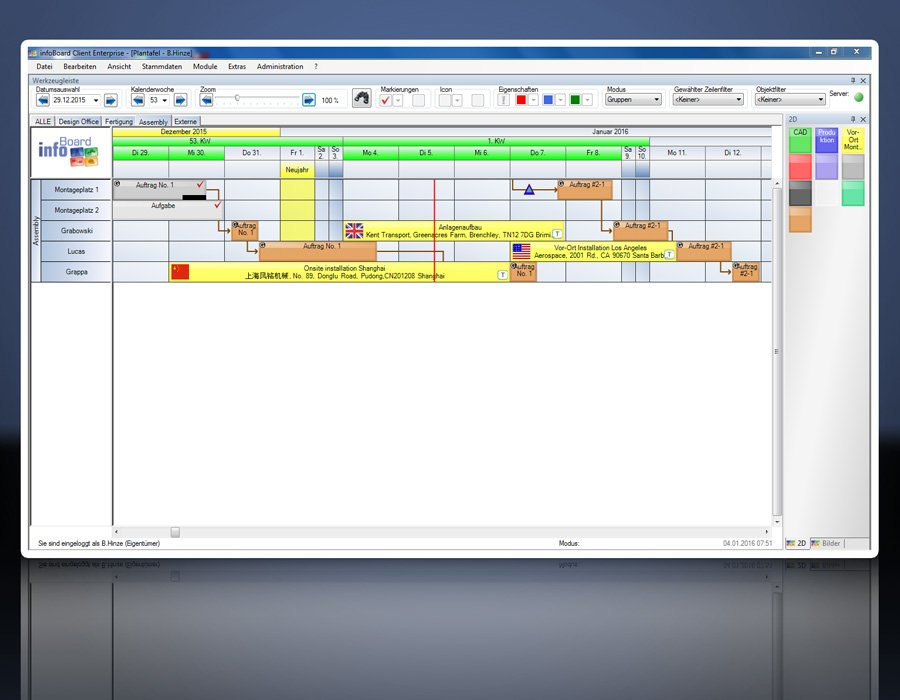 17. Produktbild Elektronische Plantafel infoBoard-Server
