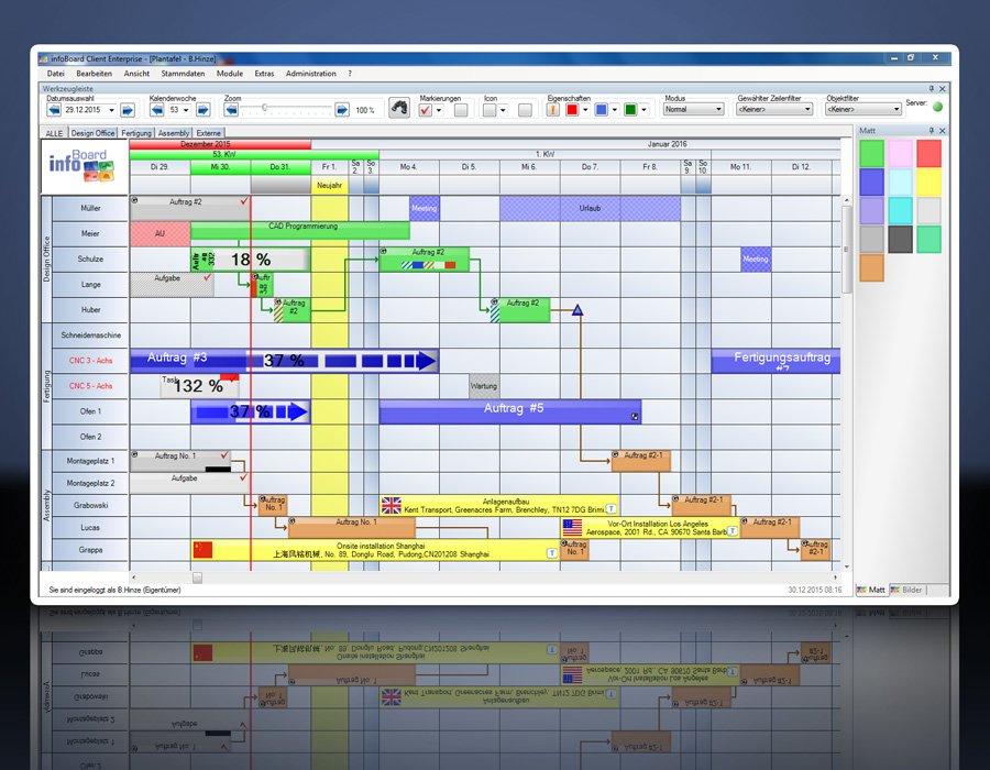 2. Produktbild Elektronische Plantafel infoBoard-Server