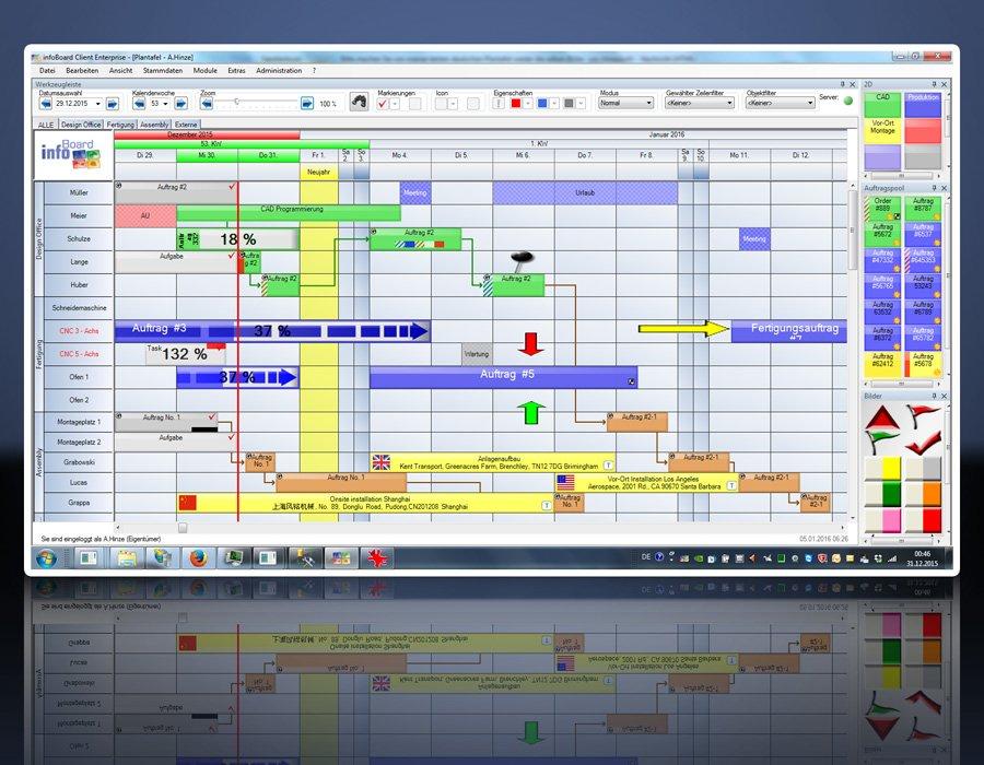 3. Produktbild Elektronische Plantafel infoBoard-Server
