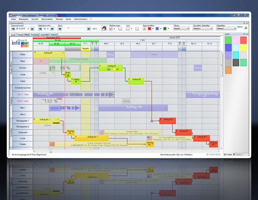 6. Produktbild Elektronische Plantafel infoBoard-Server