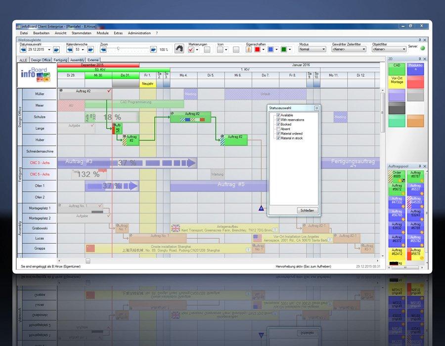 9. Produktbild Elektronische Plantafel infoBoard-Server