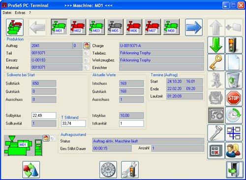 ProSeS PC Terminal sorgt für mobile Produktion & Fertigung