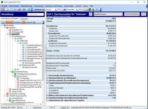 12. Produktbild VVW Control - Projektmanagement für Architekten und Ingenieure
