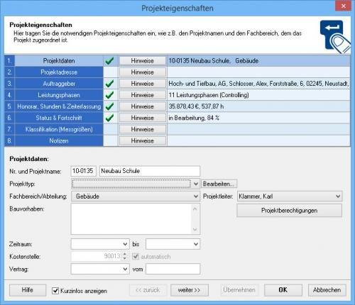 2. Produktbild VVW Control - Projektmanagement für Architekten und Ingenieure