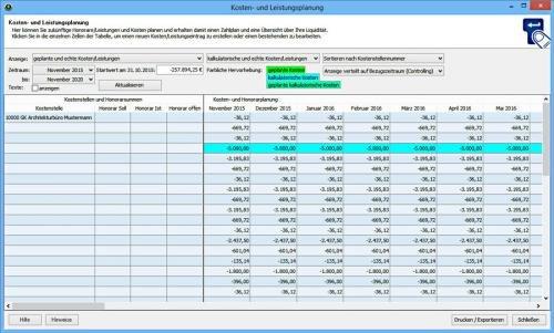 7. Produktbild VVW Control - Projektmanagement für Architekten und Ingenieure