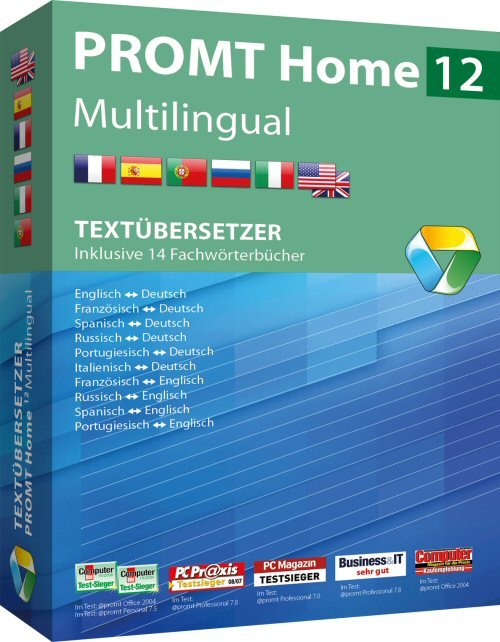 1. Produktbild PROMT Home 12 Multilingual