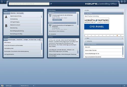 1. Produktbild Haufe Controlling Office