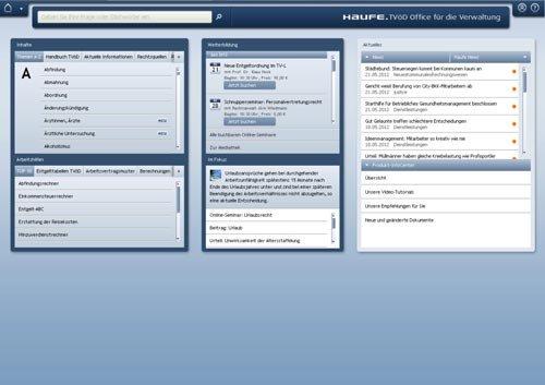 1. Produktbild Haufe TVöD Office für die Verwaltung