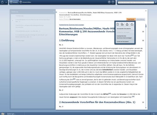 2. Produktbild Haufe HGB Bilanz-Kommentar Online