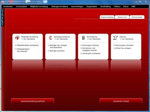 1. Produktbild Lexware vereinsverwaltung
