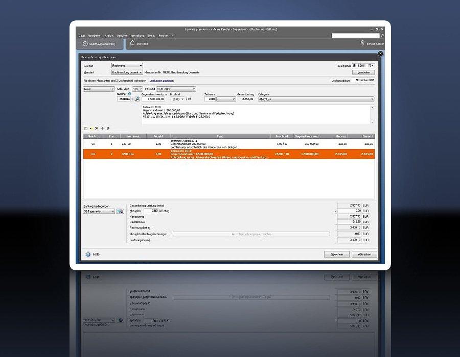 3. Produktbild Lexware neue steuerkanzlei