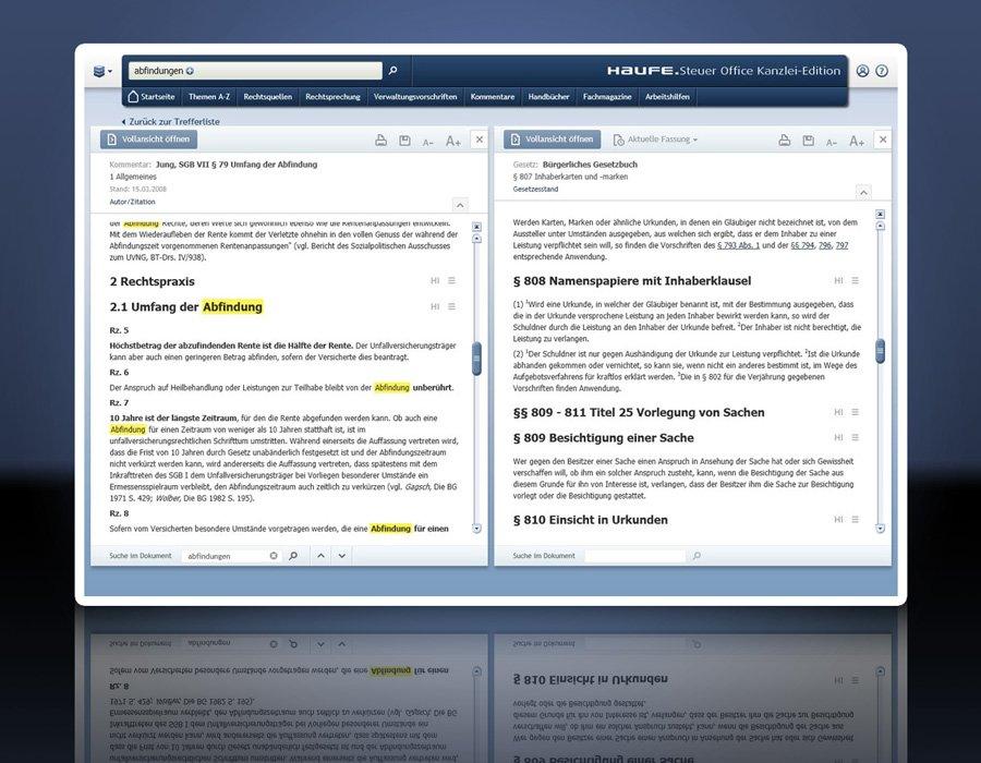 3. Produktbild Haufe Steuer Office Kanzlei-Edition