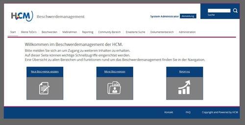 3. Produktbild HCM Beschwerdemanagement