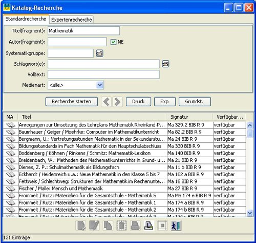 1. Produktbild Perpustakaan Bibliothekssoftware