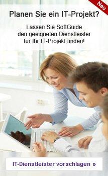 Lassen Sie SoftGuide den geeigneten Dienstleister f�r Ihr IT-Projekt finden!